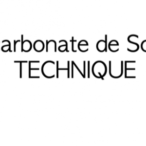 Bicarbonate de soude technique